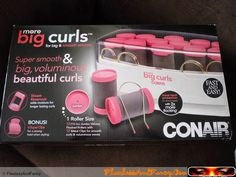T hese were on sale back in Spring at Ulta, so I decided that I would give them a try since I never owned or used hot rollers. Using Hot Rollers, Long Lasting Curls, Curl Curl, Big Curls, Styling Tools, Bad Hair, Hair Tools, Big And Beautiful, Moisturizer