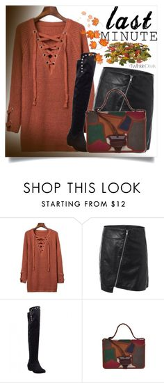 """Last minute!"" by zenabezimena ❤ liked on Polyvore featuring autumn, fashionset and topset"