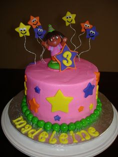 dora cake | Dora Birthday Cake | Flickr - Photo Sharing!