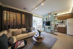 Sala de TV Moderna: 60 Modelos, Projetos e Fotos para Decorar