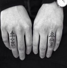 magic symbol fingers kan brukes som laivsymboler
