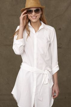 crisp, white shirt dress. | style // looks i love {s/s ...