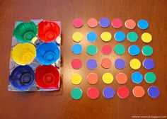 Minne-Mama: Color Sorting for Toddlers