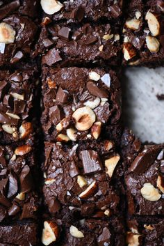 These gluten free and vegan brownies are PERFECTLY fudgy, moist and nutty! We've declared our love for tahini many times in various culinary settings - this sa