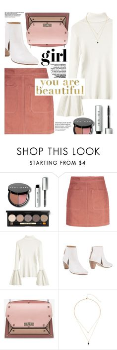 """OOTD"" by yexyka ❤ liked on Polyvore featuring Bobbi Brown Cosmetics, Gaia D'Este, Bally and Americanflat"