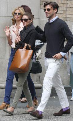 Style Icon - Johannes Huebl (and Olivia Palermo) Fashion Moda, New Fashion, Fashion News, Womens Fashion, Fashion Trends, Olivia Palermo Outfit, Olivia Palermo Style, Gq Style, Preppy Style
