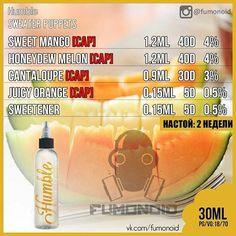 #eliquid #recipe #vape #juice
