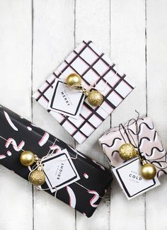 free printable christmas wrap and tags | diy christmas ideas | festive crafts | an easy way to make your gifts look special