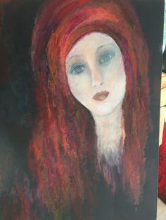 Akryl. 60x80. Karina Ravneng