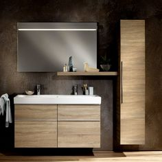 Geberit Icon Tall Cabinet with One Door available in UK Bathrooms. Geberit Icon Tall Cabinet with One Door available in UK Bathrooms. Zen Bathroom, Budget Bathroom, Bathroom Storage, Small Bathroom, Bathroom Ideas, Master Bathroom, Bathroom Furniture, Bathroom Interior, Bathroom Cabinets