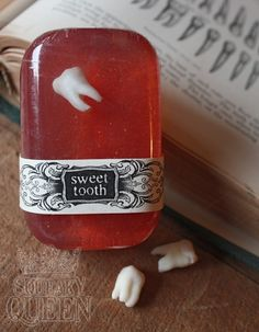Sweet Tooth soap- these would make great stocking stuffers! Maureen A Gonta DDS PC  - pediatric dentist in Corning, NY @ http://www.drgonta4kids.com