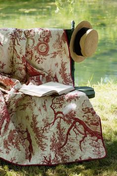 French toile quilt