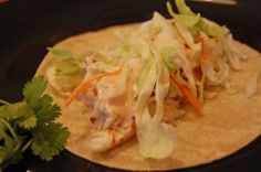 fish tacos with chipotle dressing the best fish tacos serve with mango ...