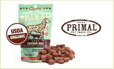 Jerky Chicken Nibs will soon become your dog's favorite snack. These treats are made in the USA from certified organic chickens. They are a high source of protein, contain no preservatives, antibiotics, or hormones. They are also gluten and grain free. This deal includes two 6oz. bags of these healthy and delicious snacks. $29