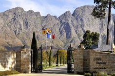 Finding a touch of France in Franschhoek. Click through to read about the top French-inspired eateries, wine estates, and accommodation in Franschhoek. Weekends Away, Beaches In The World, Most Beautiful Beaches, Old World Charm, Wine Country, Cape Town, South Africa, Mount Rushmore, Places To Go