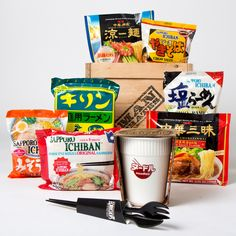Live the upper-middle-class American dream- distinguish yourself from your neighbors by enjoying the same things as them, just a little bit better. We proudly present the College Connoisseur's Ramen Appreciation Crate- an introduction to epicurean elitism via the finest flavors in boiling water. Because together we can pioneer affordable snobbery. Blaze trails in value-hoity toitery. Innovate in inexpensive one-upsmanship.