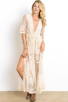 873a315e05 As you wish embroidered lace maxi dress (women) - more colors in ...