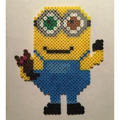 Bob minion perler beads by  skinnyonskin: