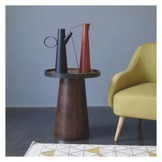 ZELDA Terracotta metal decorative vase | Buy now at Habitat UK