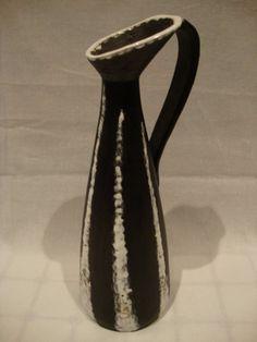 Jelzett Belphegor retro iparművész kerámia váza - Kerámia   Galéria Savaria online piactér - Antik, műtárgy, régiség vásárlás és eladás
