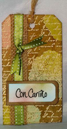 double embossing resist - paso a paso