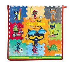 Pete the Cat Giant Foam Floor Puzzle *** ** AMAZON BEST BUY **