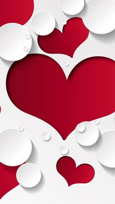 Heart Shape Abstract Iphone S Wallpaper Mobile Wallpaper White Wallpaper Heart