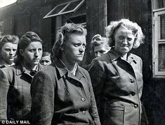 Nazi women exposed as every bit as bad as Hitler's deranged male ...