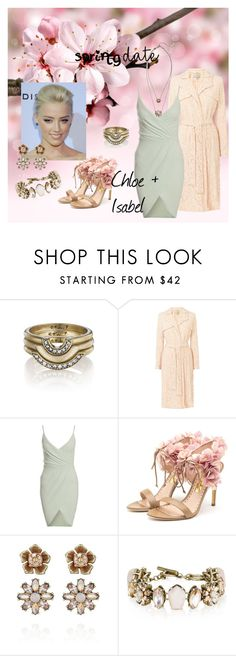 """""""Spring date chloe and isabel style"""" by christina-coto on Polyvore featuring Chloe + Isabel, Rupert Sanderson and chloeandisabel"""