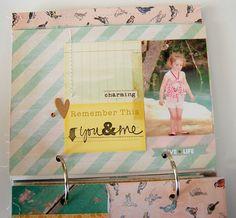 mini album by laeti Crate Paper & American Crafts