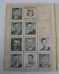 F.C. Barcelona. Cromos Editorial Cisne 1942-43. Liga Española.