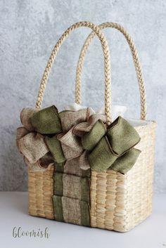 Kawaii Accessories, Wicker, Basket, Packaging, Sewing, Bags, Purses, Totes, Manualidades