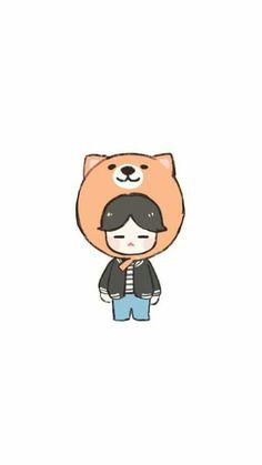 Change My life [myg] - bts Foto Bts, Bts Suga, Bts Taehyung, Chibi Fairy Tail, Cartoon Wallpaper, Bts Wallpaper, Kpop Drawings, Dibujos Cute, Fan Art