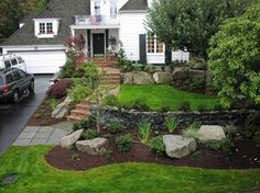 Front Entry Landscape Design Ideas Pictures Remodel And Decor Landscaping