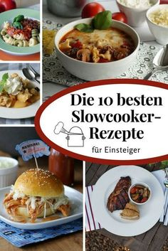 The 10 best slow cooker recipes for beginners Cook slowly .- This is the ultimate top list of dishes that I would recommend for beginners and slow cooker newbies. Delicious – and hardly anything can go wrong! Slow Cooker Meatloaf, Slow Cooker Roast, Best Slow Cooker, Crock Pot Slow Cooker, Crock Pot Recipes, Slow Cooker Recipes, Cooking Recipes, Meat Recipes, Slow Cooking