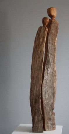 Kathryns Paar - wood artist at SkulpTour - # wood artist . - Kathryns Paar – wood artist at SkulpTour – # Wood Artist - Driftwood Sculpture, Driftwood Art, Abstract Sculpture, Sculpture Art, Bronze Sculpture, Cardboard Sculpture, Angel Sculpture, Sculpture Ideas, Metal Sculptures