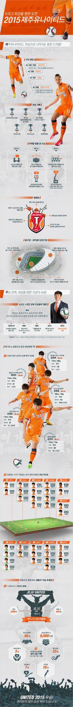 K리그 최강을 향한 도전 '2015 제주유나이티드'에 관한 인포그래픽