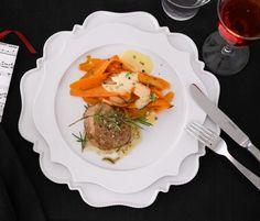 Rezept: Kalbs-Medaillons mit Sauce Béarnaise