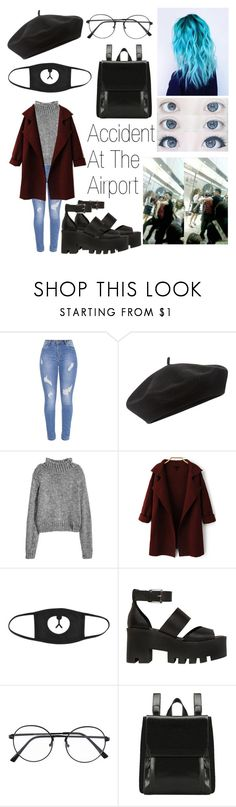 """Airport Style 3"" by olivia-anece ❤ liked on Polyvore featuring Accessorize and Windsor Smith"