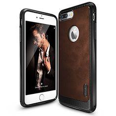iPhone 7 Plus Case, Ringke [Flex S Series] Coated Texture…