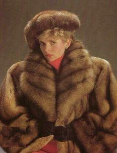 Gorgeous Golden Sable Anziehsachen Sable Fur Coat Fur