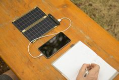 The World's Lightest, Thinnest Solar Charger Is The Same Size As Your Phone