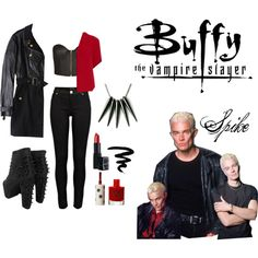 Buffy The Vampire Slayer - Spike - The shoes would kill me lol.