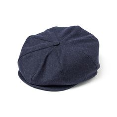 ab459250413e4 Navy Hopsack 8 Panel Cap. This quintessentially English York cap is a  traditional 8 panel