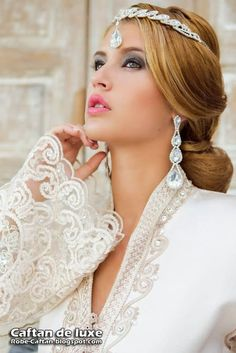 Caftan 2014   robe de mariée blanche