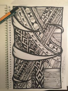 Tongan inspired tattoo design