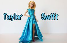 Taylor Swift Dolls | Taylor Swift Grammy's 2015 DIY Doll Style How To Tutorial - YouTube
