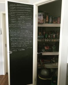 Chalk board roll from Kmart @organised_chaos_co on Instagram