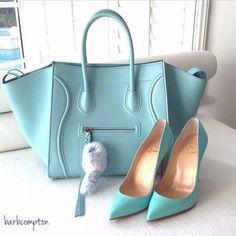 Celine & Louboutin #moda #fashion #cuero #leather #zapatos #shoes #bolsos #bags #marroquineria #leathergoods #estilo #style #lifestyle