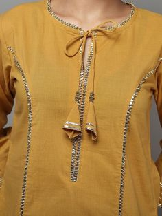 Best 12 Top 50 Stylish And Trendy Kurti Neck Designs That Will Make You Look All The More Graceful Sleeves Designs For Dresses, Neck Designs For Suits, Neckline Designs, Dress Neck Designs, Blouse Designs, Salwar Designs, Kurta Designs Women, Kurti Designs Party Wear, Silk Kurti Designs